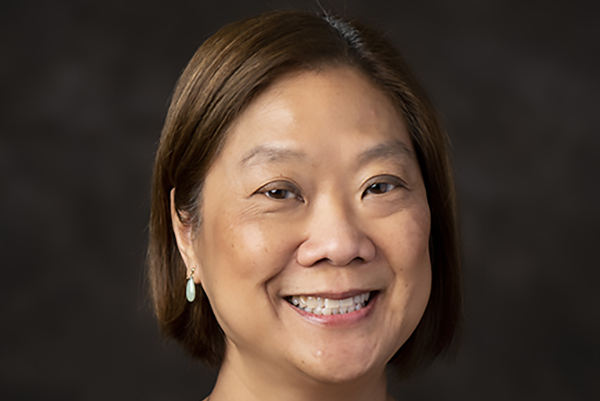 Dr. Florina S Tseng, Associate Professor and Associate Chair of Infectious Disease and Global Health at the Cummings School of Veterinary Medicine at Tufts University, poses for a portrait