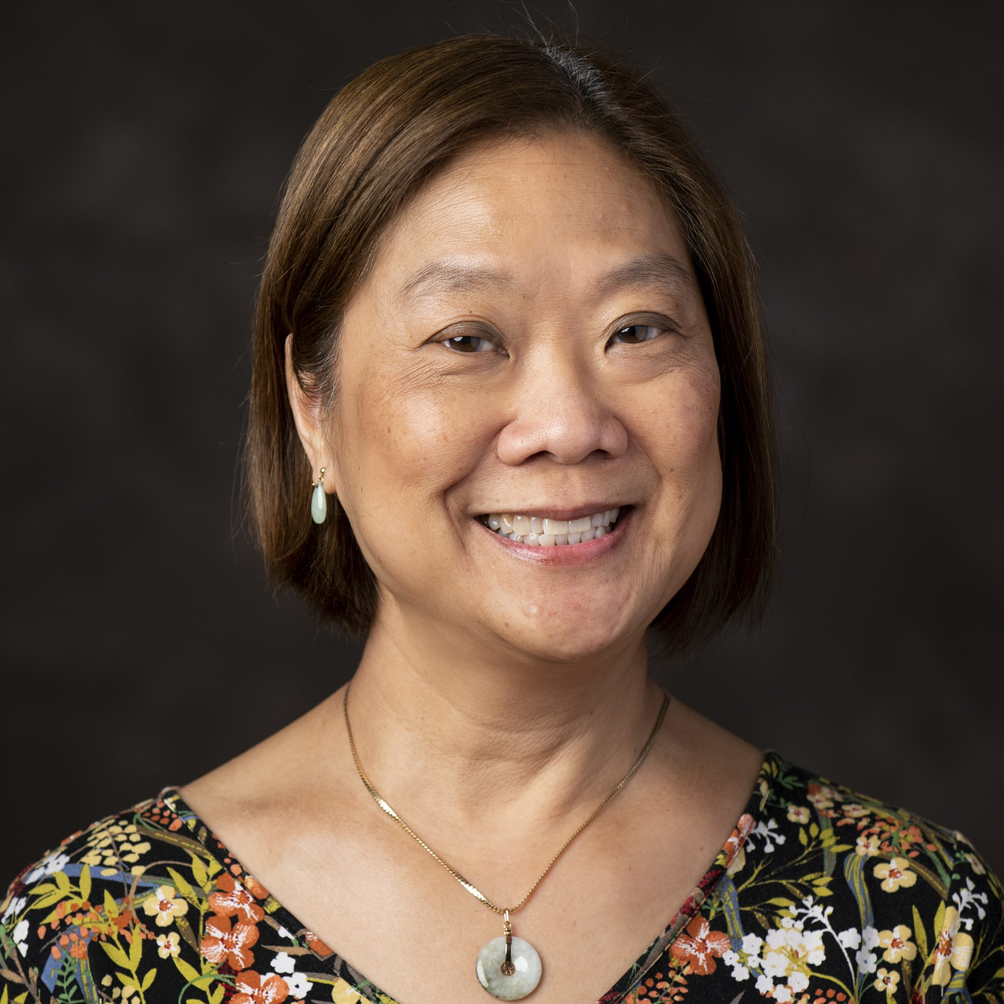 01/15/2020 - N. Grafton, Mass. - Dr. Florina S Tseng, Associate Professor and Associate Chair of Infectious Disease and Global Health at the Cummings School of Veterinary Medicine at Tufts University, poses for a portrait on January 15, 2019. (Alonso Nichols/Tufts University)