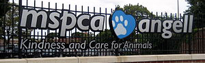 MSPCA Boston sign